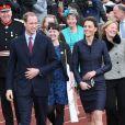 Après l'inauguration de la Darwen Aldridge Community Academy dans la matinée du 11 avril 2011, le prince William et Kate Middleton étaient attendus au stade de Witton County, pour leur dernière sortie avant le mariage.