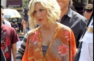 Tori Spelling, enceinte, ne décroche pas un sourire... Hayden Panettiere, si !