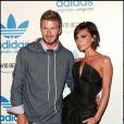 Victoria Beckham et David en septembre 2010.