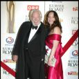 Donald Sutherland et Natalie Woerner au 22e gala Romy au Hofburg à Vienne le 16 avril 2011