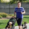 Ethan Hawke et sa fille Clementine en septembre 2010