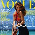 Natasha Poly en couverture du Vogue France