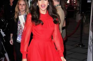 Eva Mendes et sa robe rouge ont éclipsé toutes les autres beautés...