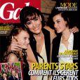 Couverture du magazine Gala avec Inès de la Fressange et ses filles Nine et Violette