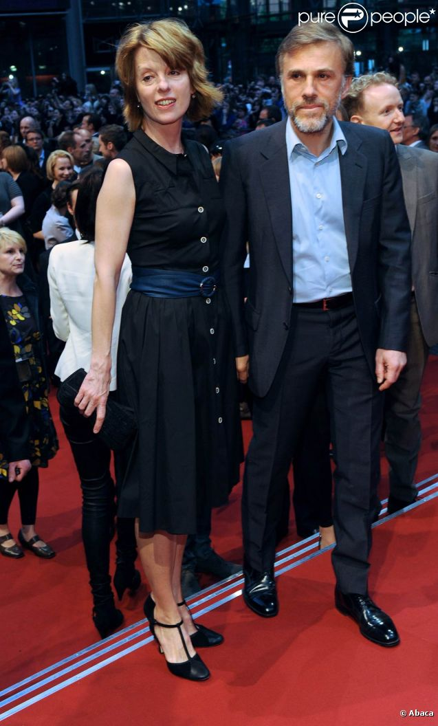 Christoph Waltz with beautiful, Wife Judith Holste