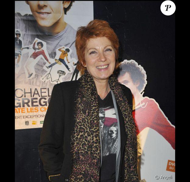 Véronique Genest à la soirée de générale du nouveau spectacle de Michael Grégorio au Bataclan en octobre 2010