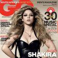 Shakira met encore une fois le feu à l'Afrique du Sud en posant pour la couverture du GQ.