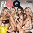 Les sexy girls de Victoria Secret font vibrer la Chine avec la couverture du GQ chinois.