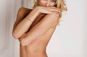 La sublime Candice Swanepoel, le meilleur moyen de commencer le week-end...