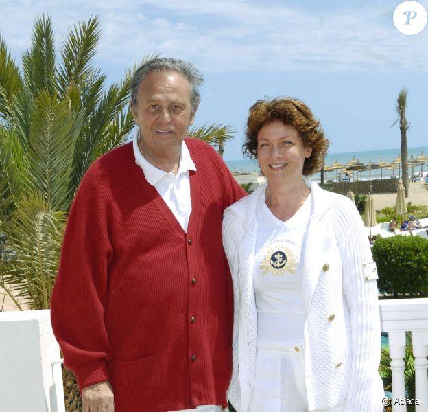 Roger Hanin et Agnès Berdugo en 2006