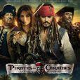 Affiche de Pirates des Caraïbes 4 - La Fontaine de Jouvence