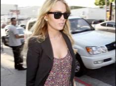 PHOTOS : Lindsay Lohan, après l'effort le réconfort