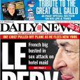 Le New York Daily News fait sa une du samedi 14 mai sur l'affaire DSK.