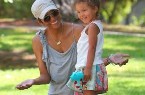 Halle Berry ne quitte plus sa petite mascotte, la jolie Nahla !