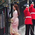 Les lecteurs du magazine britannique  Hello!  ont établi leur palmarès de l'élégance lors du mariage royal du 29 avril 2011. Le caftan rose pastel de la princesse consort Lalla Salma du Maroc a séduit et l'a propulsé en tête des suffrages.