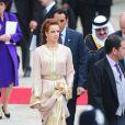 Les lecteurs du magazine britannique  Hello!  ont établi leur palmarès de l'élégance lors du mariage royal du 29 avril 2011. La première dame du Maroc, la princesse consort Lalla Salma, qui représentait son époux le roi Mohammed VI, a fait forte impression dans son caftan rebrodé d'or et domine les débats chez les femmes !