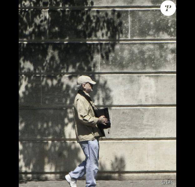 Terrence Malick tourne son nouveau film The Burial à Paris le 15 mai 2011
