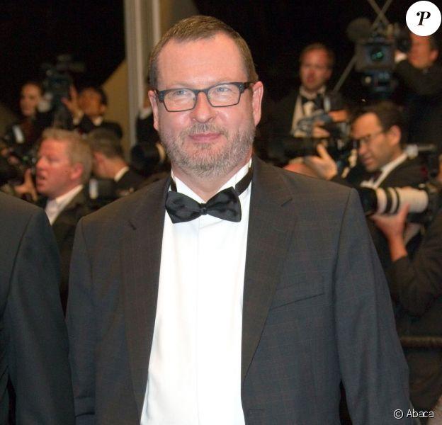 Lars von Trier lors de la présentation de Melancholia le 18 mai 2011 au festival de Cannes