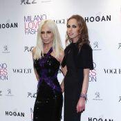 Allegra Versace : L'héritière, toujours très maigre, semble remonter la pente...