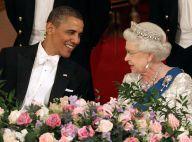 Barack Obama et la reine super complices... et Michelle sublime en Tom Ford !