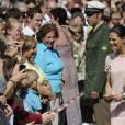 La princesse Victoria et le prince Daniel de Suède en visite officielle à Munich du 24 au 27 mai 2011.