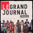 Ali Baddou sur le plateau du Grand Journal sur Canal + en avril 2011
