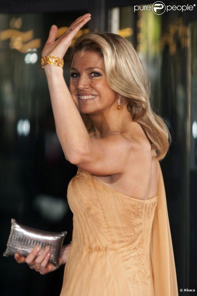 La princesse Maxima des Pays-Bas lors de la célébration de son 40e  anniversaire à Amsterdam le 27 mai 2011