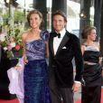 Marilène et Maurits des Pays-Bas lors de la célébration du 40e anniversaire de la princesse Maxima des Pays-Bas à Amsterdam le 27 mai 2011