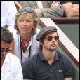 Raphaël Personnaz lors de la neuvième journée des internationaux de tennis de Roland Garros 2011 le 30 mai 2011
