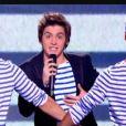 Florian Giustiniani chante Les Limites dans X Factor le 31 mai 2011 sur M6