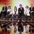 Les six candidats chantent Goodbye my lover avec James Blunt dans X Factor le 31 mai 2011 sur M6