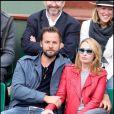 Anne Marivin et Joachim au tournoi de Roland-Garros, le 31 mai 2011.