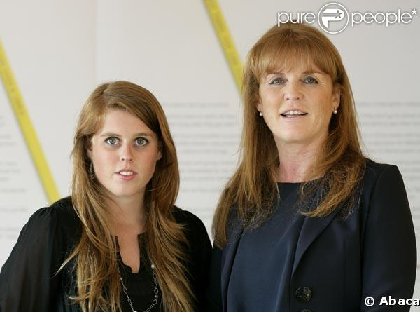 Sarah Ferguson et sa fille Béatrice