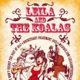 Leïla and the Koalas, affiche du groupe, 2011.