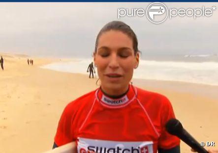 Laury thilleman passionn e de surf assiste aux - M pokora ou habite t il ...