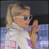 Paris Hilton : Folle de Grand Prix de Moto, ou de l'argent que ça lui rapporte ?