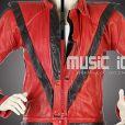 La vente aux enchères Music Icons se tiendra les 25 et 26 juin 2011 à Los Angeles. Le blouson de cuir rouge du clip Thriller de Michael Jackson en est la pièce maîtresse.