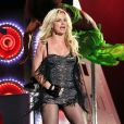 Britney Spears, sur le plateau du Jimmy Kimmel Show, en mars 2011.