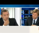 Dany Boon et Laurent Delahousse le 12 juin 2011 sur France 2