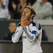 David Beckham fait le show devant ses enfants, en transe