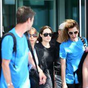 Angelina Jolie arrivée en zone sensible, auprès des réfugiés syriens