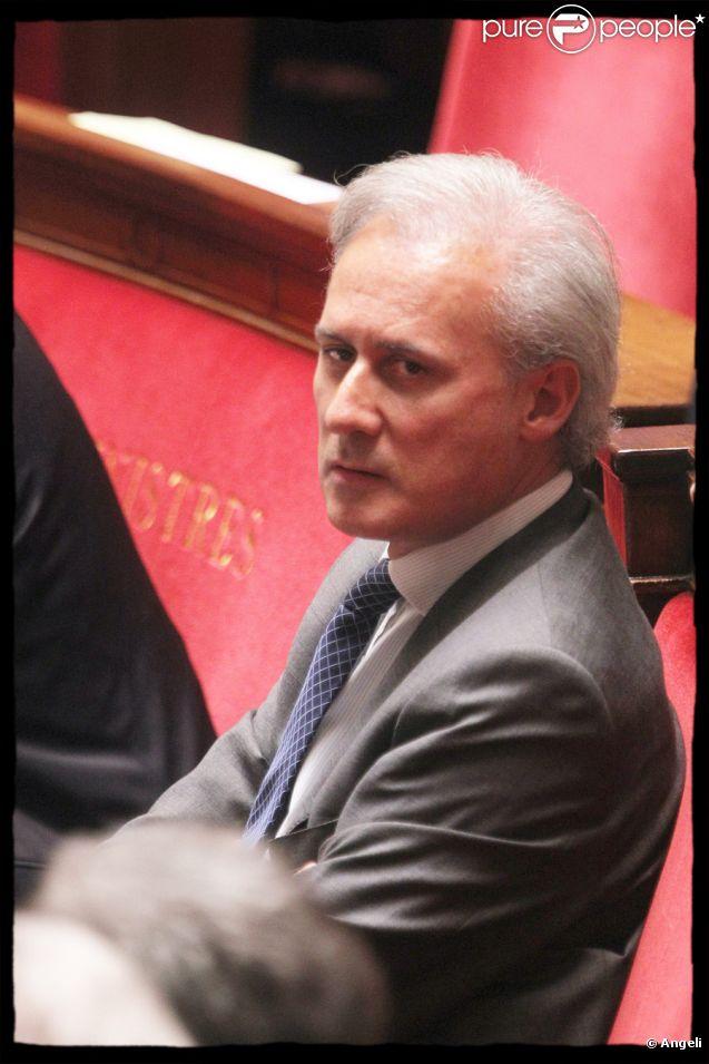 Georges Tron en octobre 2010
