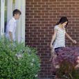 Justin Bieber et sa chérie Selena Gomez à Stratford au Canada, le 2 juin 2011