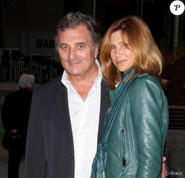 Patrick Rotman et Florence Pernel lors du lancement de La Fête du cinéma au Grand Palais à Paris le 23 juin 2011