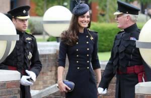 Kate Middleton : Une princesse sublime et radieuse dans son uniforme militaire