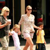 Heidi Klum : une maman sexy qui fait même des bulles !