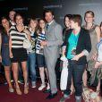 Patrick Dempsey le 26 juin 2011 à Paris pour l'avant-première de Transformers 3 au Grand Rex