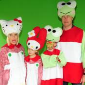 Tori Spelling et Denise Richards s'amusent avec l'adorable Hello Kitty