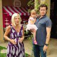 Tori Spelling et son mari Dean McDermott ont organisé une incroyable fête d'anniversaire spéciale Hello Kitty pour les trois ans de leur fille Stella, le 11 juin à Los Angeles.