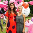 Denise Richards et et Ali Landry, enceinte, lors de l'incroyable fête d'anniversaire spéciale Hello Kitty pour les trois ans de Stella McDermott, le 11 juin 2011.